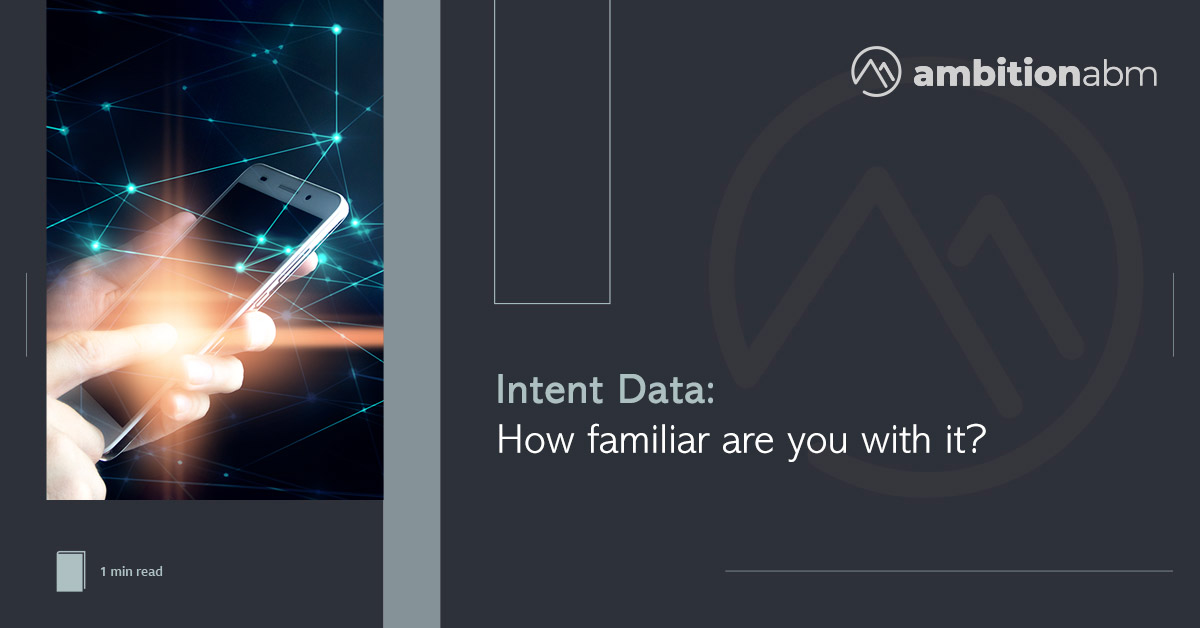 Intent Data Survey