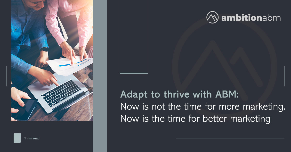 Adapt to thrive with ABM