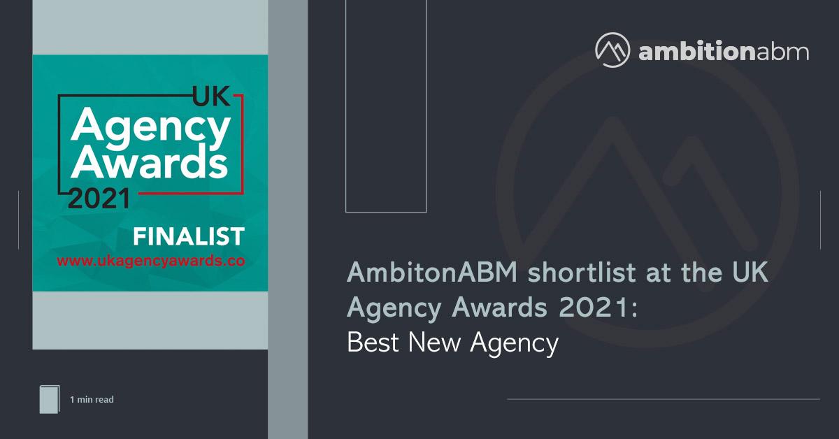 AmbitionABM UK Agency Awards