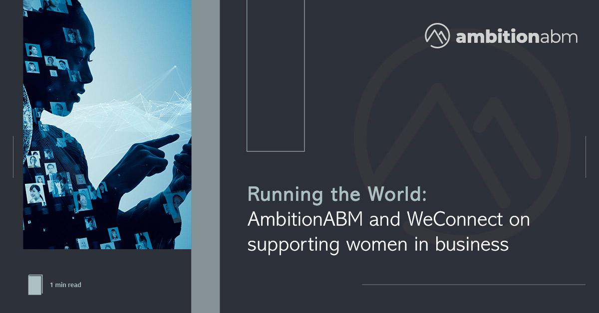 AmbitionABM & WEConnect