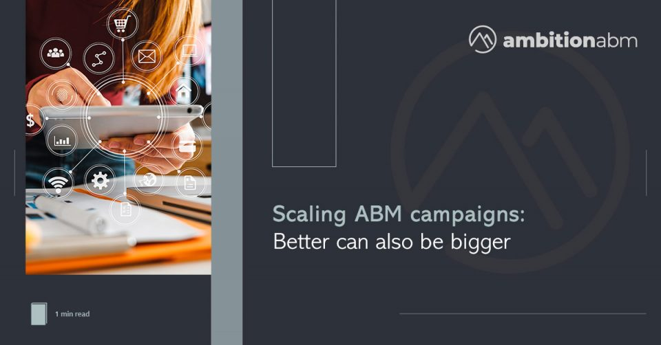 Scaling ABM campaigns